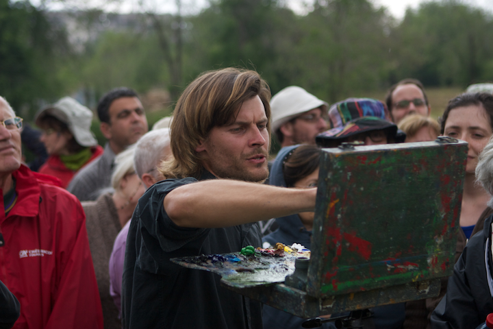 Guest artist, Kurt Knobelsdorf