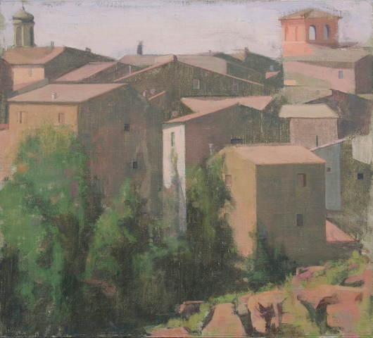 A View of Civita Castellana, 2015